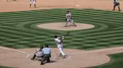 Baseball Game at Coors Field, Colorado - stock footage