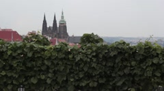 Prague Castle Stock Footage