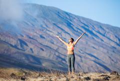 Yoga woman Stock Photos