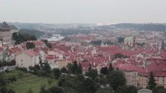 Bridges of Prague Stock Footage