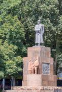 Valerian kuibyshev monument, dushanbe, tajikistan Stock Photos