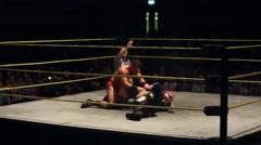 Pro Wrestling Pin HD - stock footage