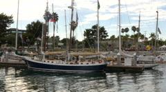 Tall Ship Challenge San Pedro California Stock Footage