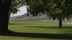 Prison Federal, Tallahassee, Trees, fence Stock Footage