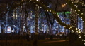 Christmas, New year time in city streets, decorated and illuminated HD Footage