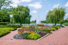 Chicago Botanic Garden Stock Photos