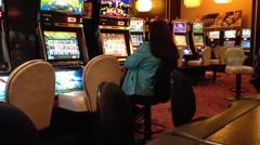 Macro slot machine Stock Footage