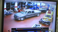 EARTHQUAKE SURVEILLANCE VIDEO LIVE WINDOWS CRASHING NAPA CALIFORNIA HD 1080 Stock Footage
