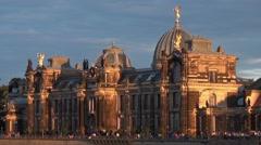 Academy of fine arts (kunstakademie) - dresden, saxonia, germany, europe Stock Footage