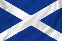 Scotland flag Stock Illustration