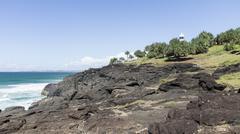 Fingal Head Lighthouse New South Wales, Australia - stock photo