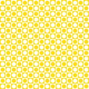 yellow candy pattern checkerboard - stock illustration