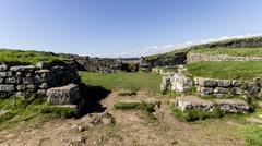 Mile Castle 37 - Hadrian's Wall Stock Photos