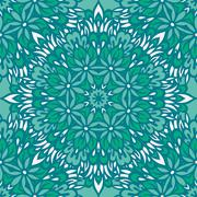 Arabesque seamless pattern. Stock Illustration