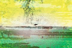 zen garden - stock illustration