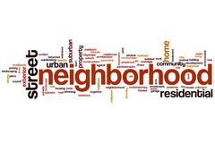 Neighborhood word cloud Piirros