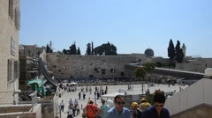 Western Wall Stock Footage