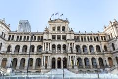 Brisbane Treasury Casino - stock photo