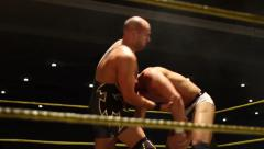 Pro Wrestling Move - Bodyslam HD - stock footage
