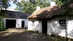 Ulster American Folk Park, Northern Ireland Stock Footage