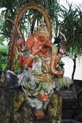 Indian god elephant Stock Photos