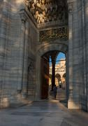 suleymaniye mosque - stock photo