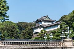 imperial palace - stock photo