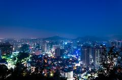 Seoul at dawn Kuvituskuvat