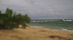 1080p, beach, hawaii Stock Footage