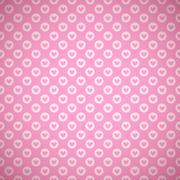 Lovely vector seamless pattern Stock Illustration