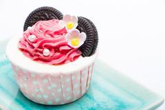 mini cake - stock photo