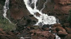 1080p, waterfall on hawaii Stock Footage