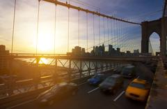 Brooklyn bridge, manhatten, new york Kuvituskuvat