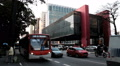 Traffic timelapse, Sao Paulo, Brazil -MASP Building, The Sao Paulo Museum of Art HD Footage