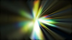 Abstract Fractal Refraction of Light - stock footage