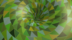 Fantasy Green Seamless Loop Background Stock Footage