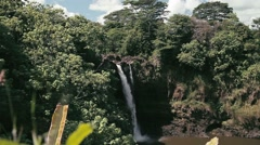 1080p, hanawi waterfall, hawaii Stock Footage