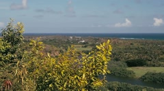 1080p, wailua landscape, hawaii Stock Footage