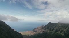 1080p, waimea canyon, kauai, hawaii Stock Footage
