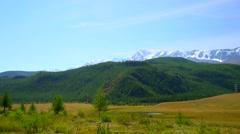 Mountain Landscape, Altai - stock footage