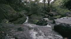 1080p, waialeale waterfall on hawaii Stock Footage