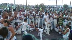 Capoerira Players - stock footage
