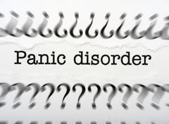 panic disorder - stock photo