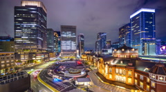 Tokyo station Stock Footage