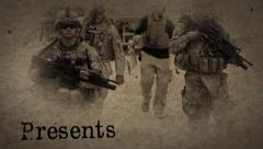 The Last War Ink Movie Trailers and Titles Particles Opening Credits Slideshow Stock After Effects