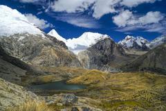 Peruvian andes Stock Photos