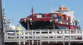 Container Ship - Dallas Express Footage