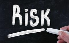 Stock Illustration of risk concept