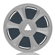 Old motion picture film reel Piirros