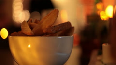 junk food - chips - stock footage